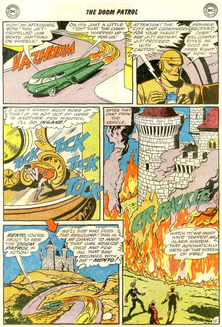 Doom Patrol (1964) issue 92 - Page 19