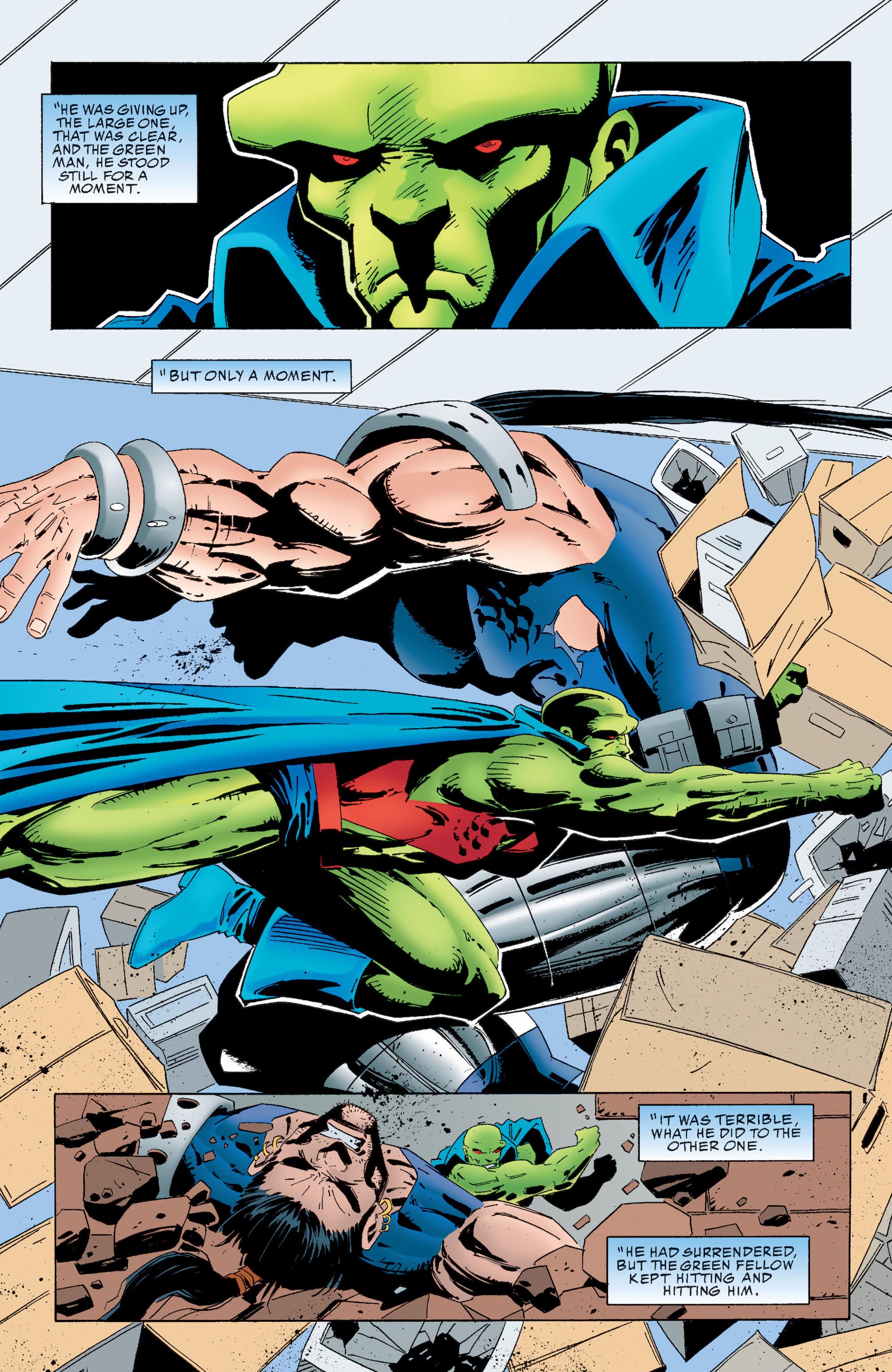 Read online Martian Manhunter: Son of Mars comic -  Issue # TPB - 132