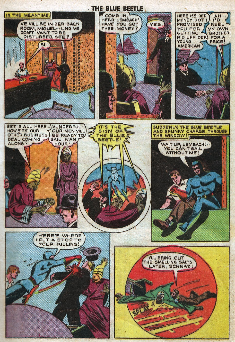 The Blue Beetle issue 33 - Page 7