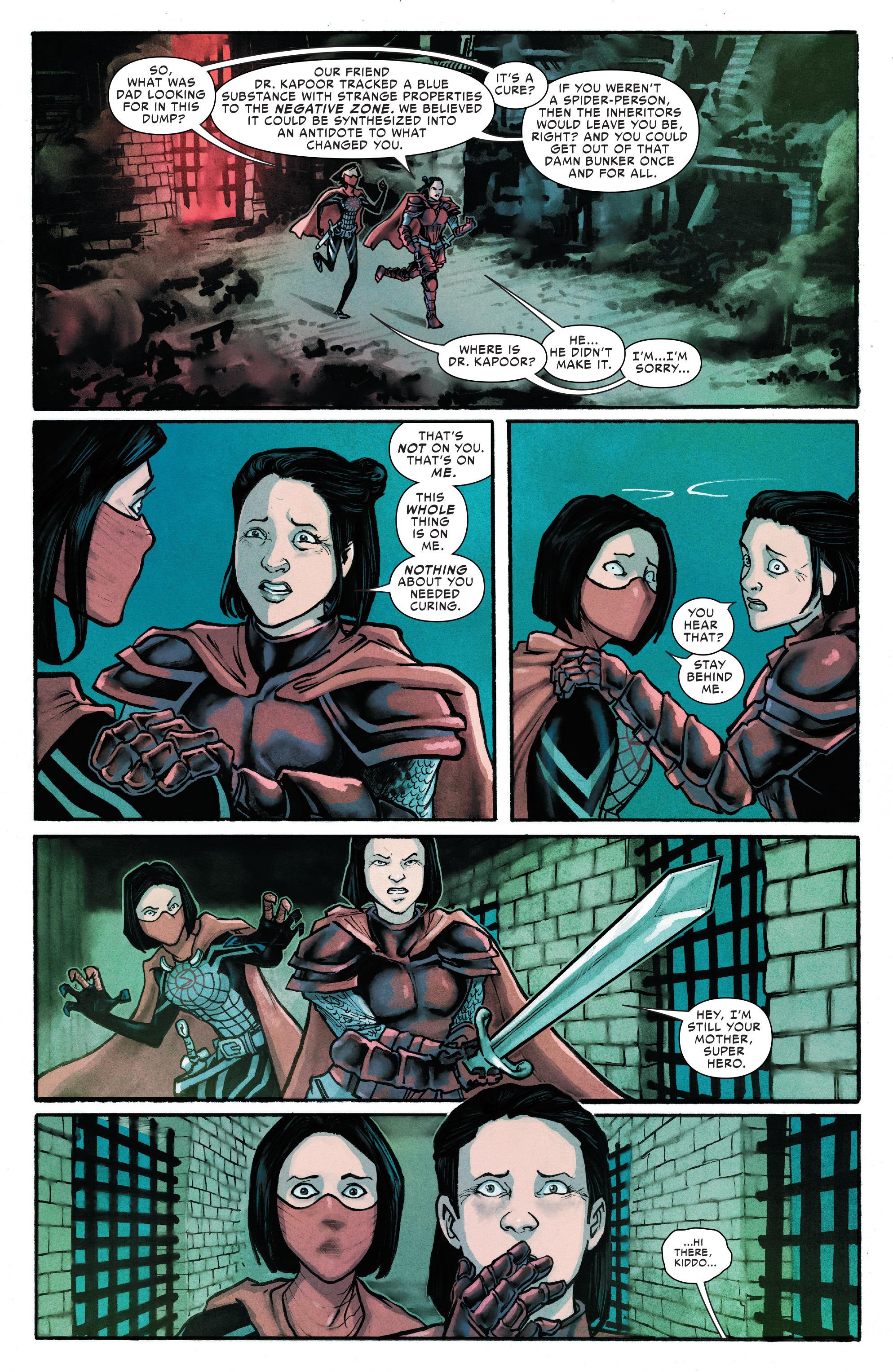 Read online Silk (2016) comic -  Issue #13 - 11
