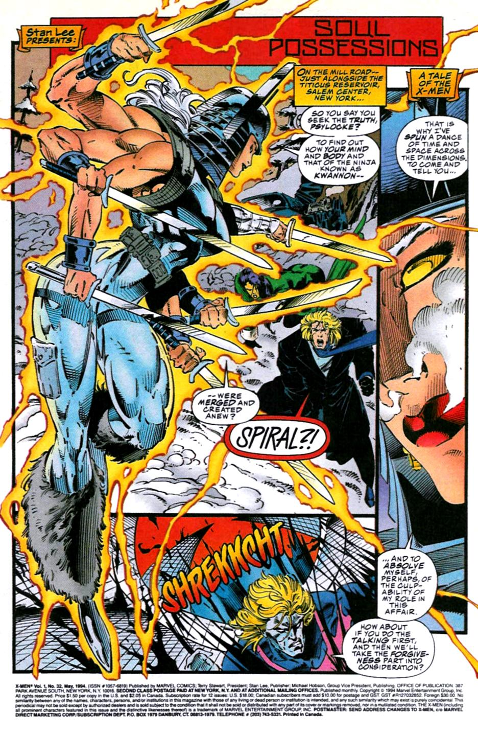 X-Men (1991) 32 Page 1