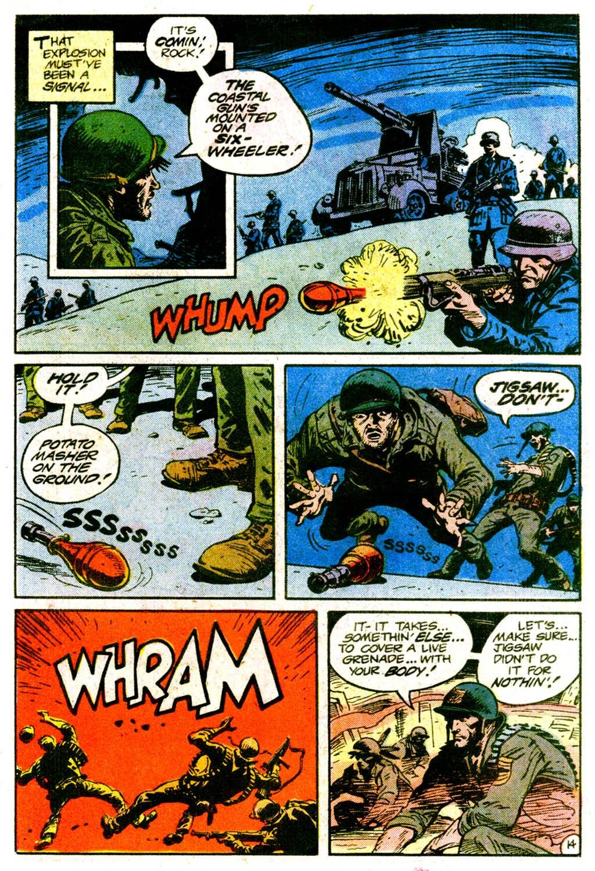 Read online Sgt. Rock comic -  Issue #365 - 18
