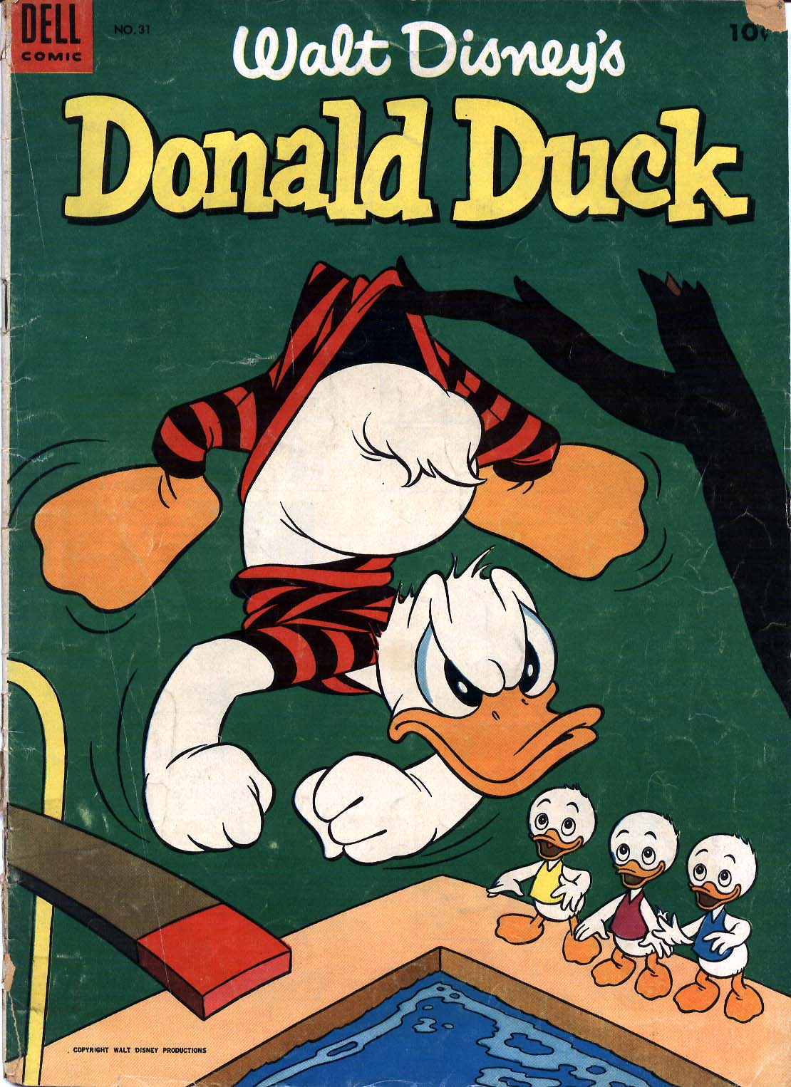Walt Disney's Donald Duck (1952) issue 31 - Page 1