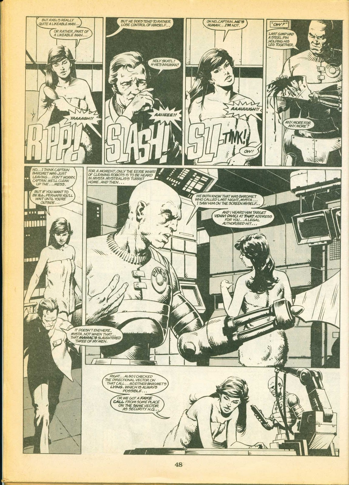 Warrior Issue #1 #2 - English 48