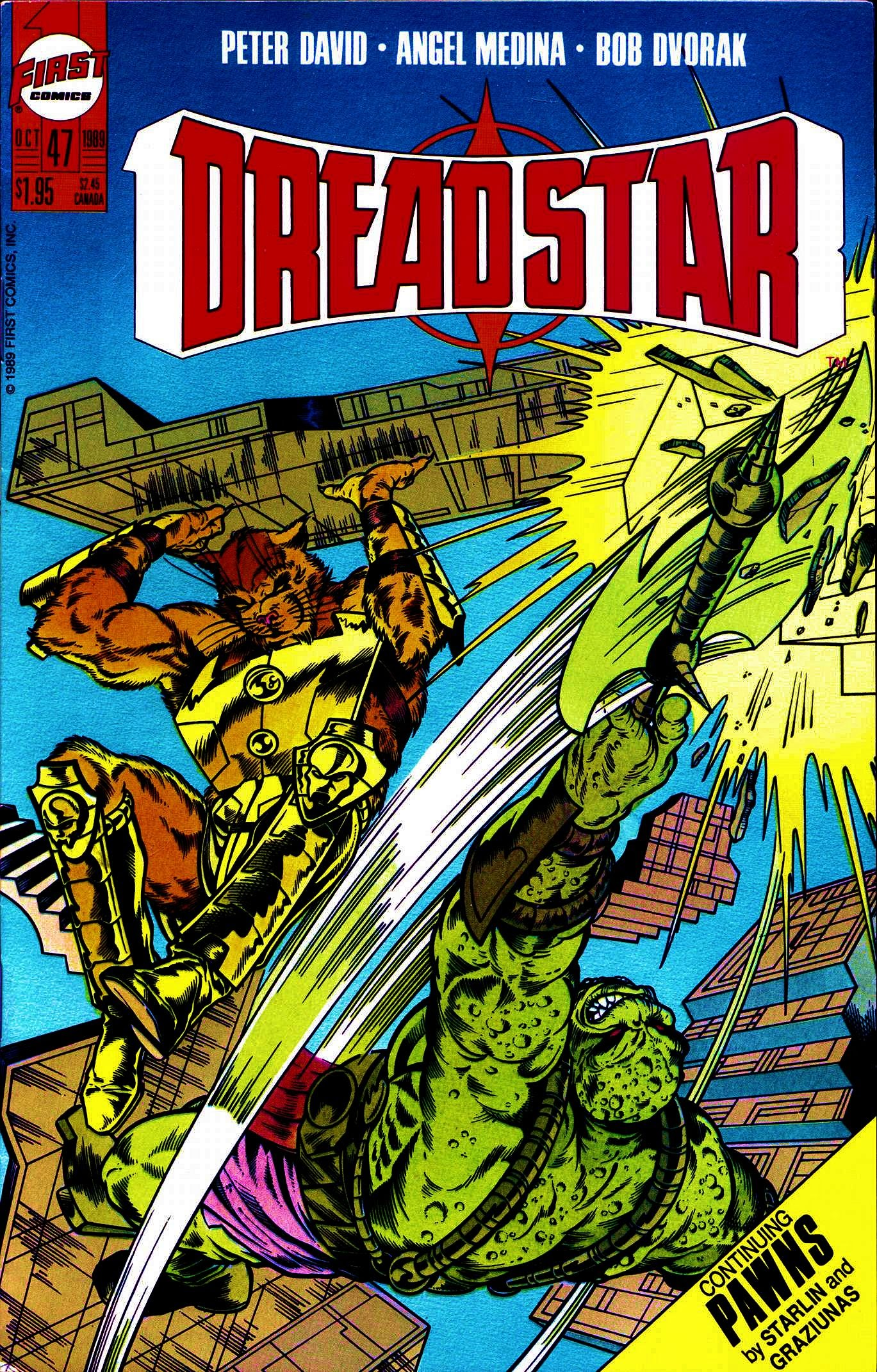 Dreadstar 47 Page 1
