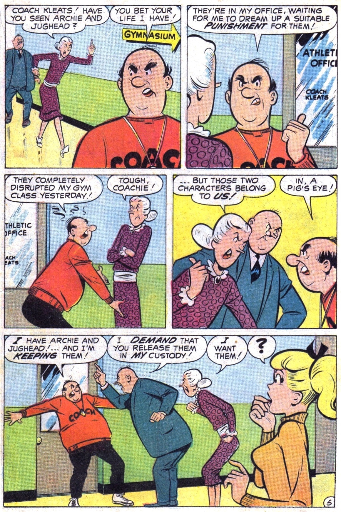 Read online Archie (1960) comic -  Issue #189 - 17
