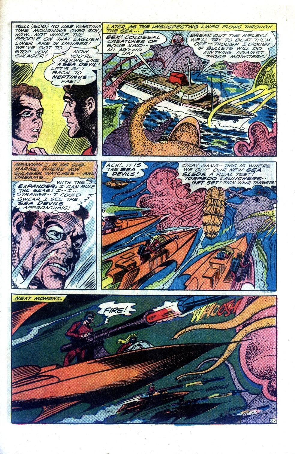 Read online Sea Devils comic -  Issue #27 - 30
