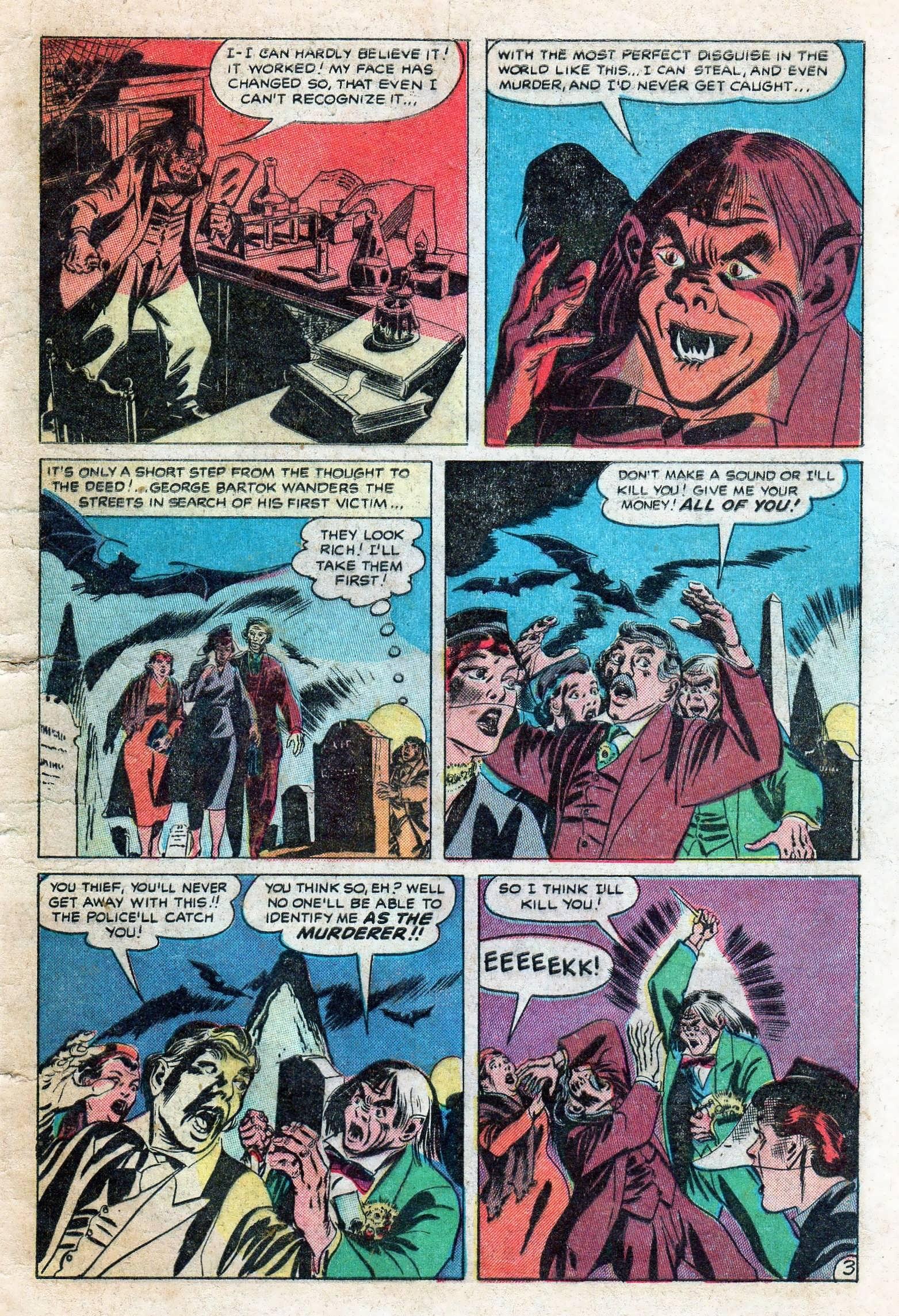 Read online Adventures into Weird Worlds comic -  Issue #11 - 5