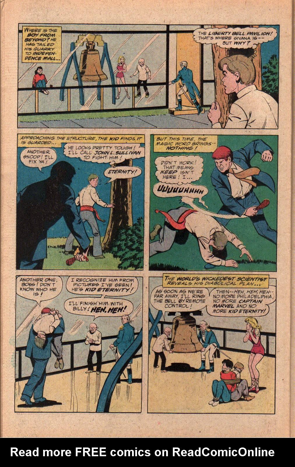 Read online Shazam! (1973) comic -  Issue #27 - 26