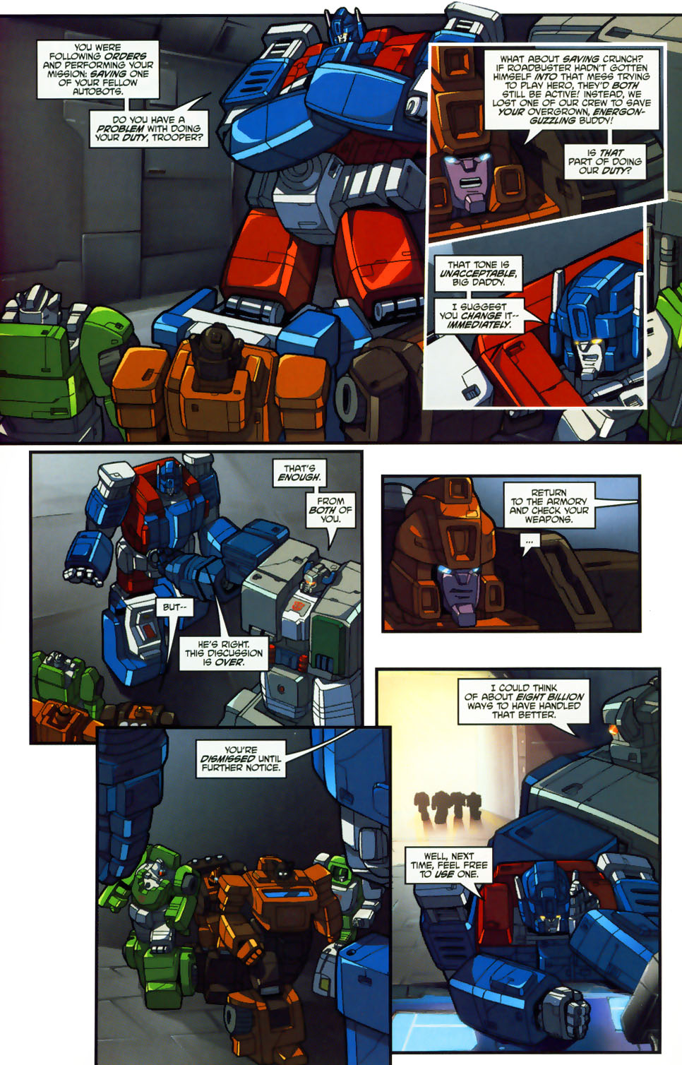 Read online Transformers: Micromasters comic -  Issue #1 - 15