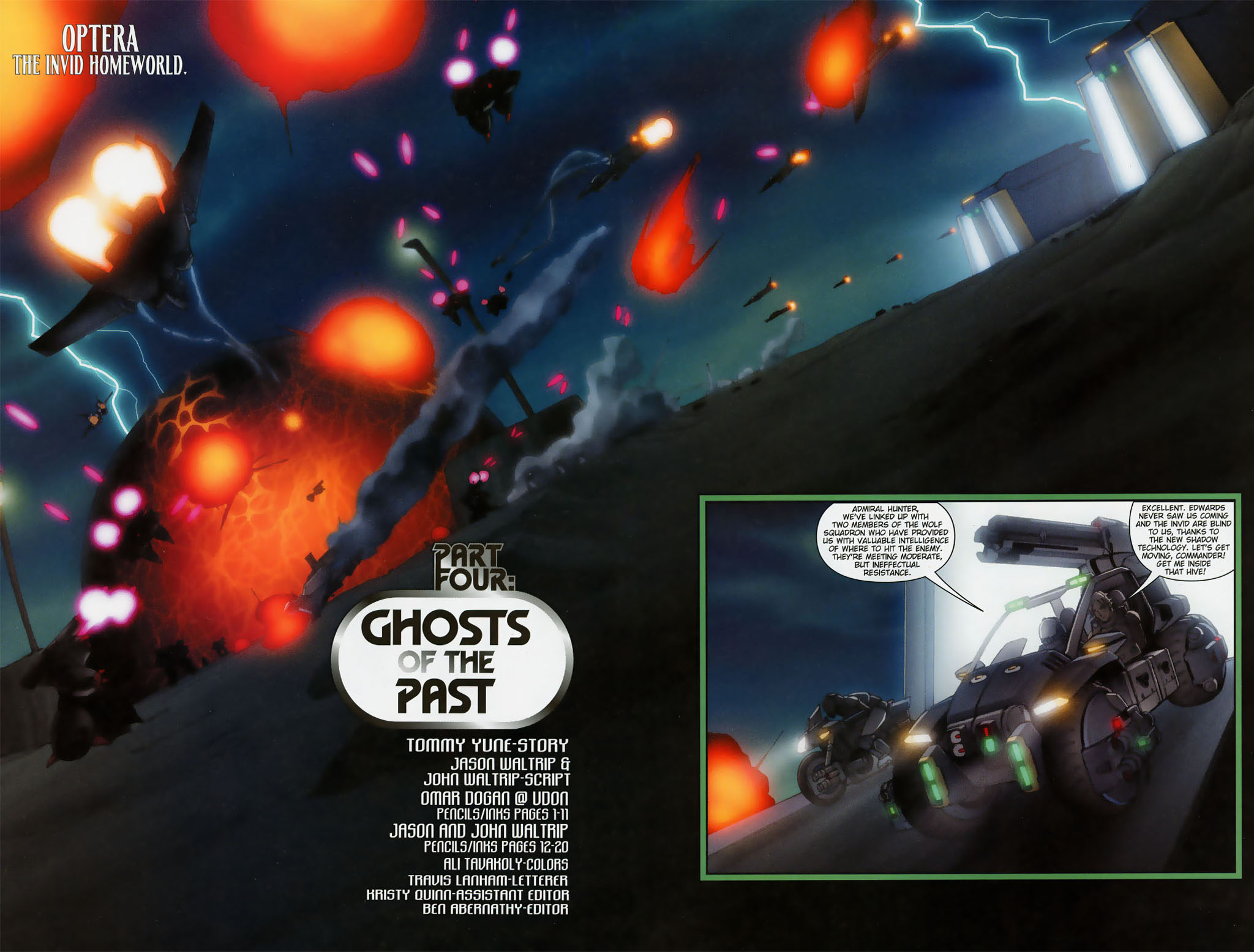 Read online Robotech: Prelude to the Shadow Chronicles comic -  Issue #4 - 3