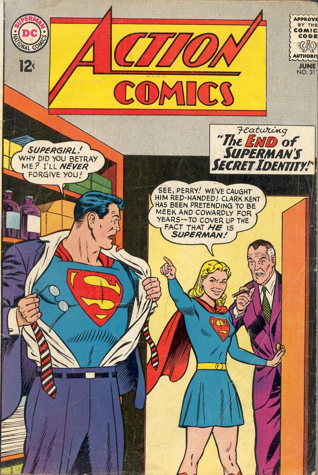 Action Comics (1938) 313 Page 1