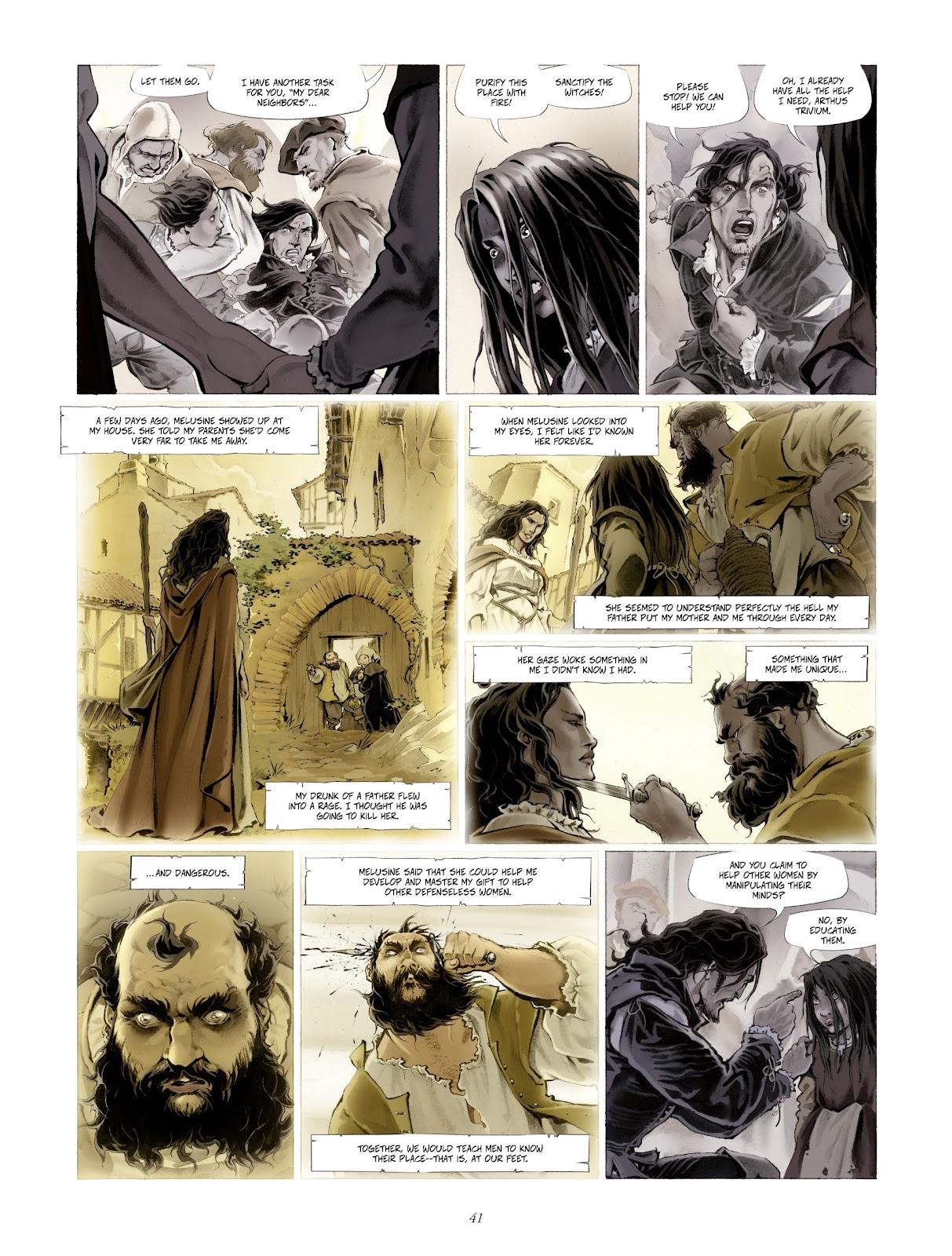 Read online Arthus Trivium comic -  Issue #4 - 43