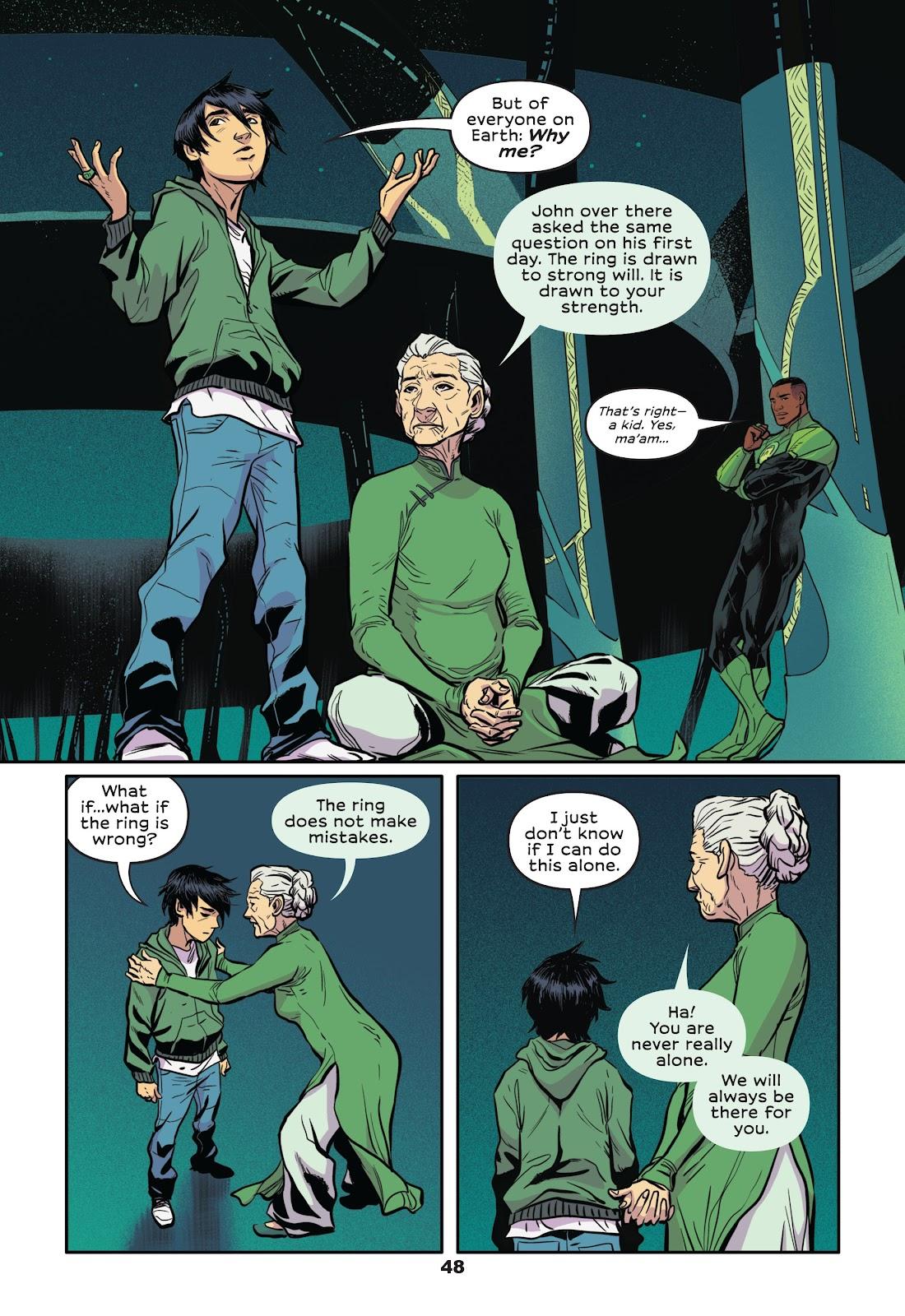 Read online Green Lantern: Legacy comic -  Issue # TPB - 46