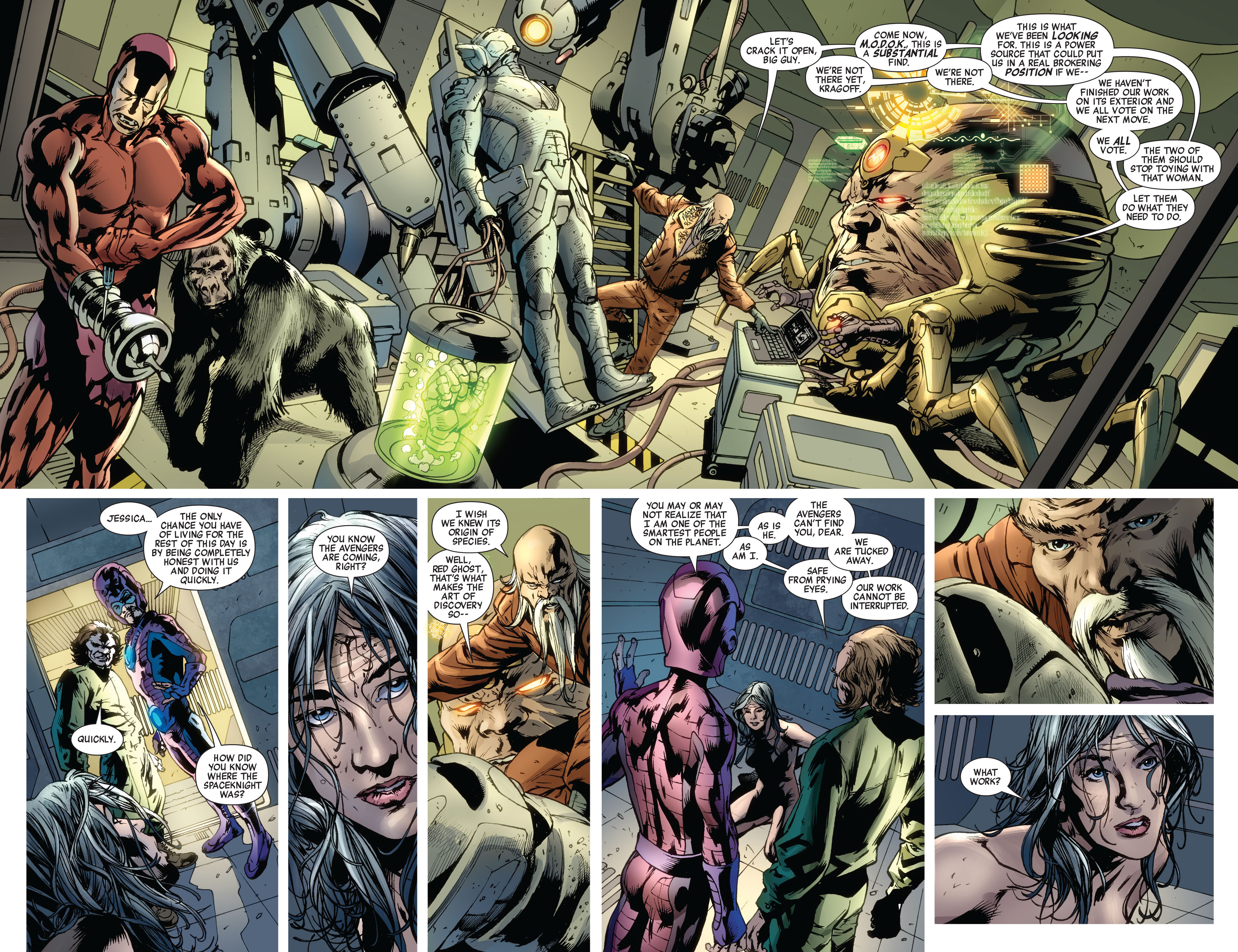 Read online Avengers (2010) comic -  Issue #12.1 - 15