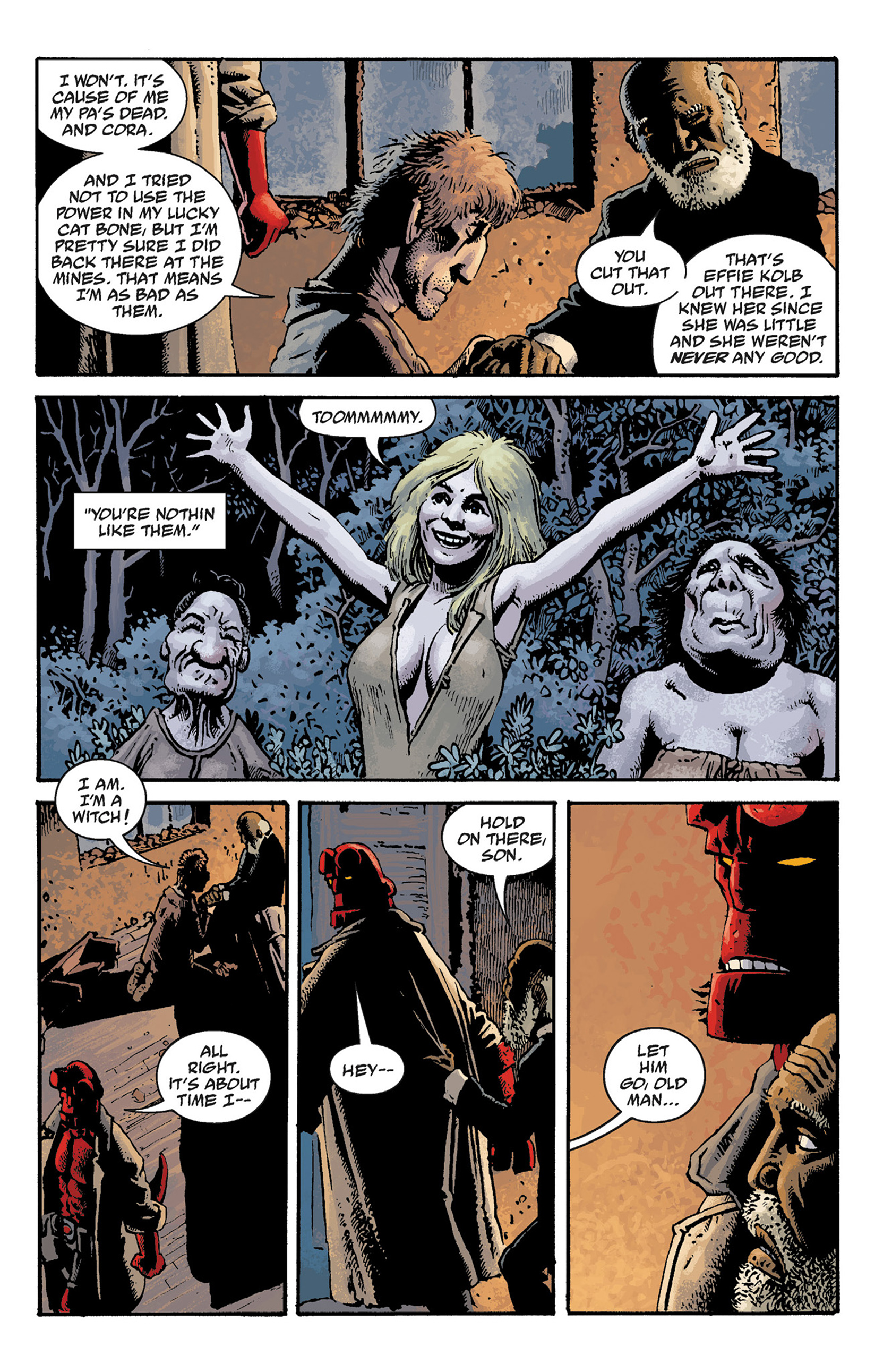 Read online Hellboy: The Crooked Man and Others comic -  Issue # TPB - 55