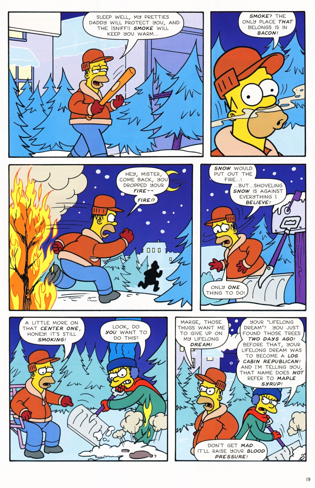 Read online Simpsons Comics comic -  Issue #172 - 21