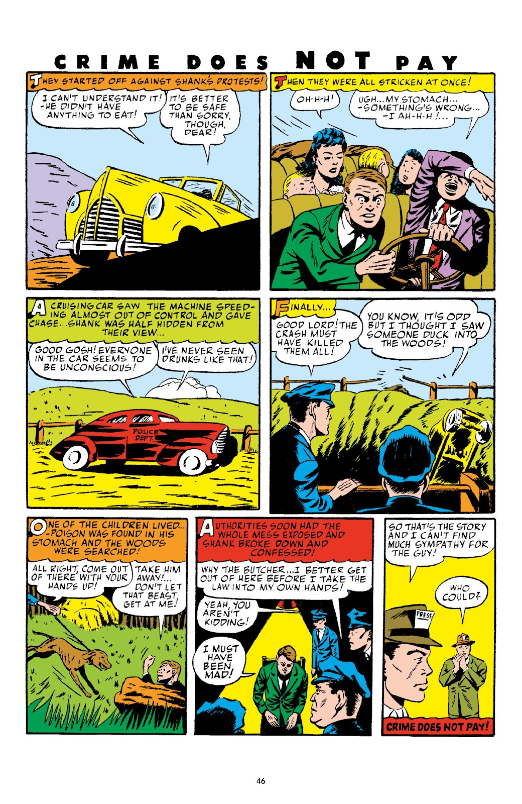 Read online Crime Does Not Pay Archives comic -  Issue # TPB 4 (Part 1) - 46