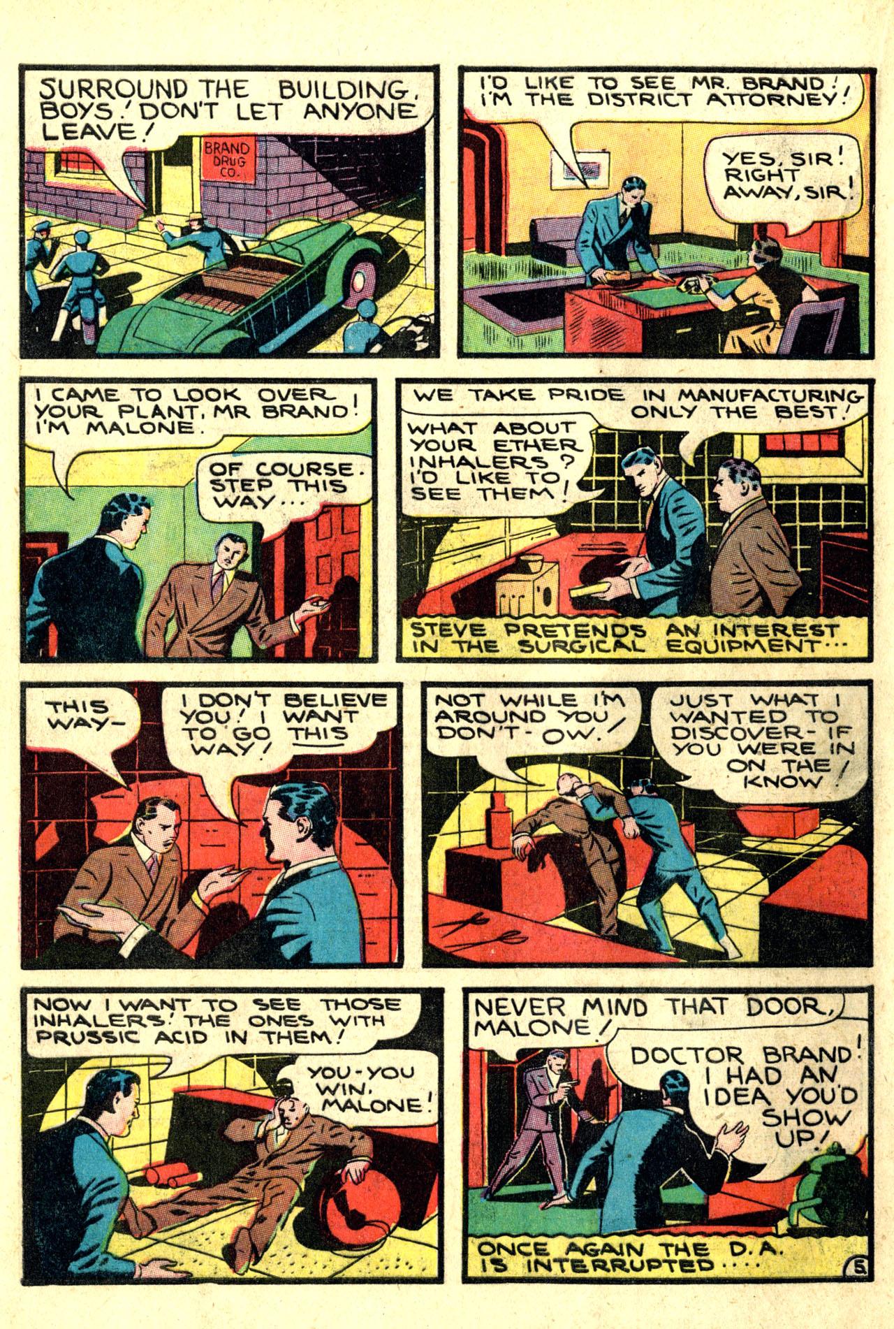 Read online Detective Comics (1937) comic -  Issue #44 - 48