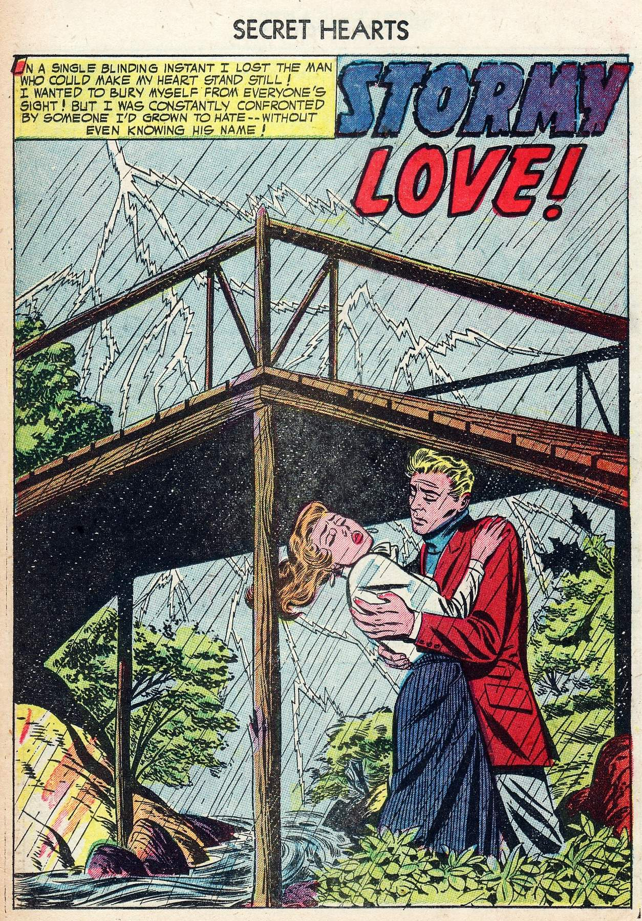 Read online Secret Hearts comic -  Issue #25 - 26