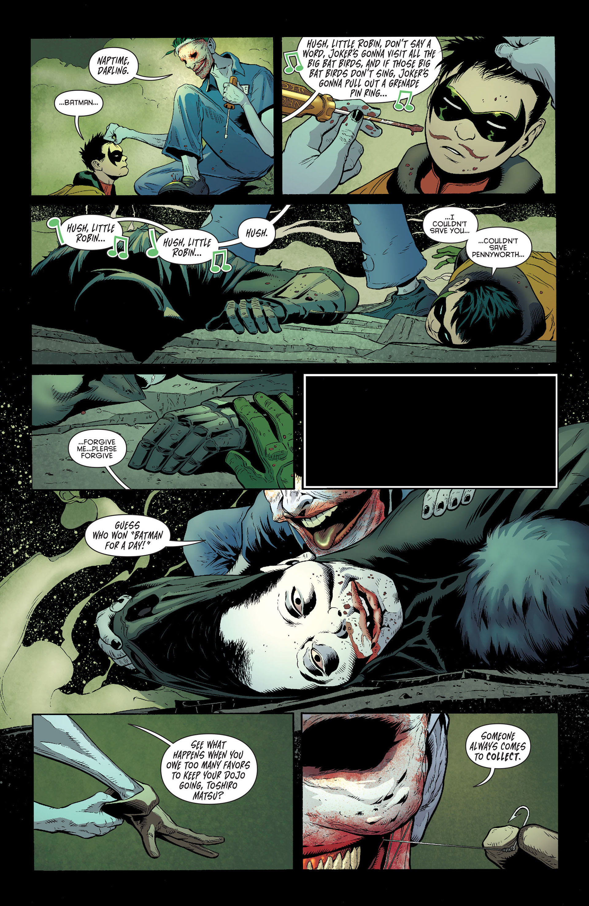 Read online Batman and Robin (2011) comic -  Issue #16 - 18