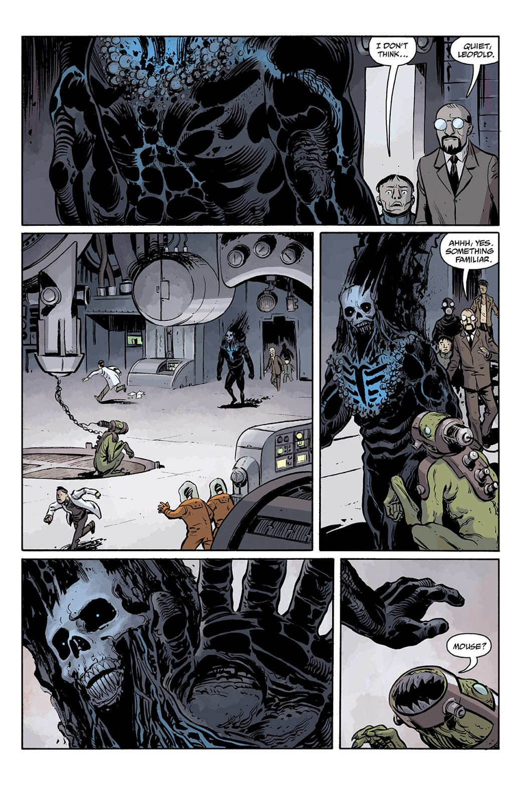 Read online B.P.R.D. Hell on Earth: The Return of the Master comic -  Issue #5 - 3