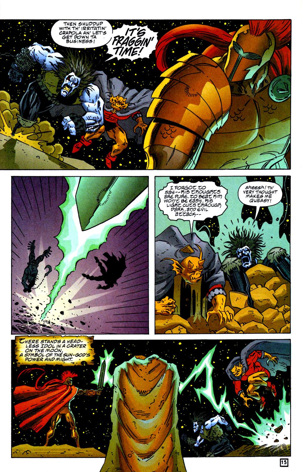 Read online Lobo/Demon: Hellowe'en comic -  Issue # Full - 16
