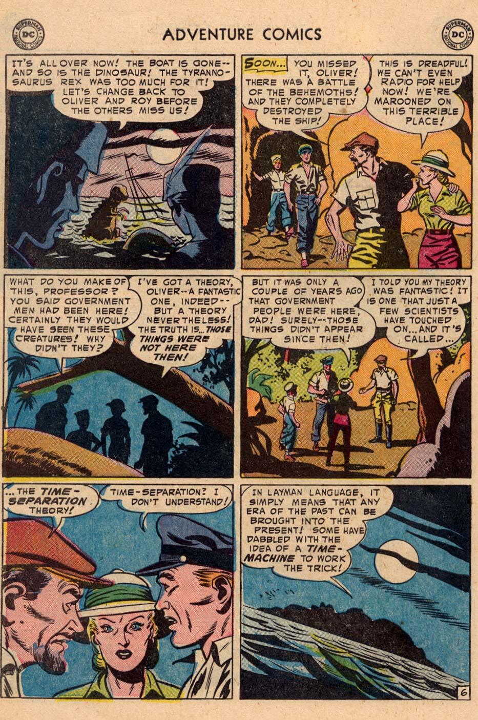 Read online Adventure Comics (1938) comic -  Issue #208 - 30