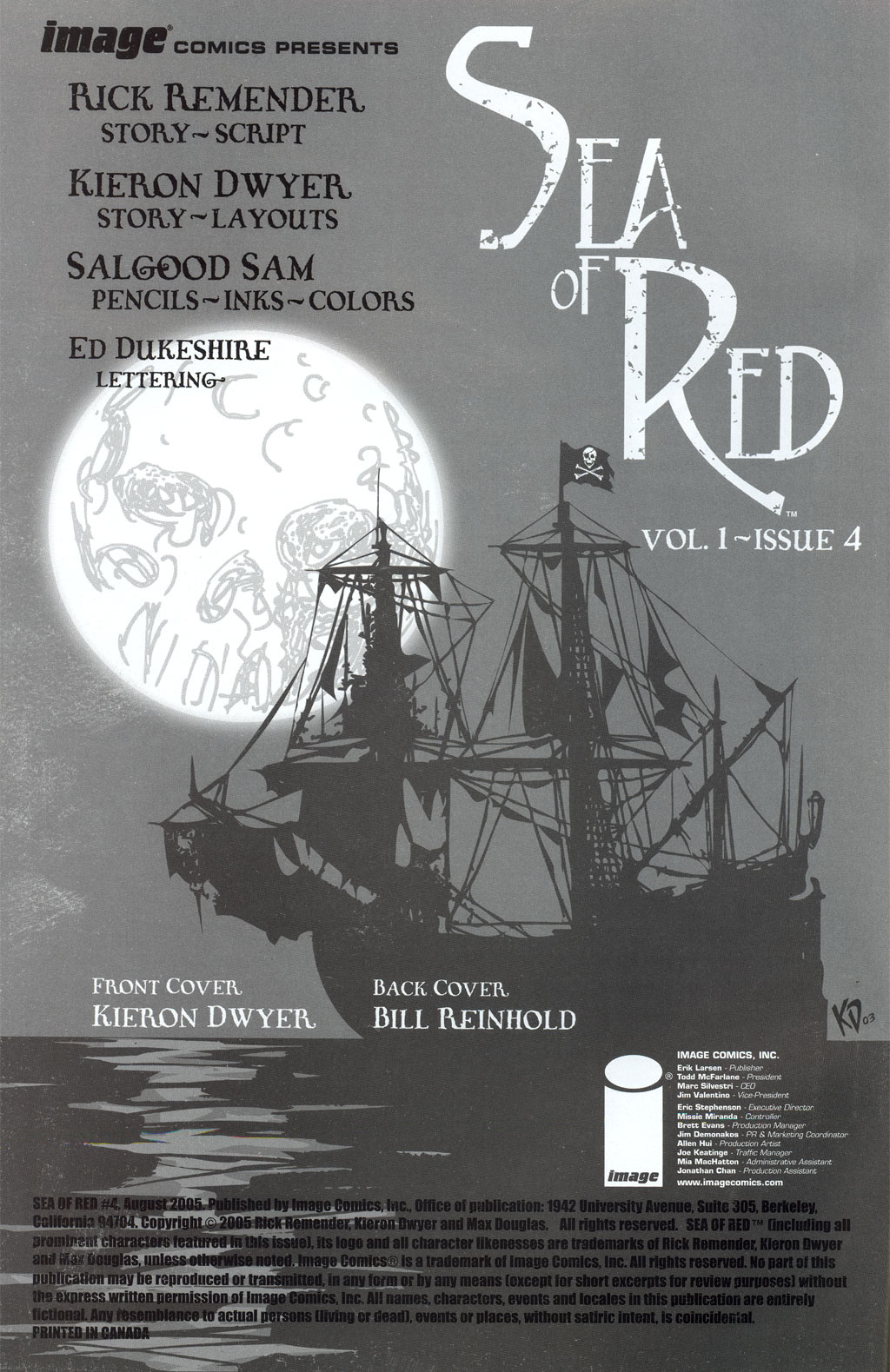 Read online Sea of Red comic -  Issue #4 - 2