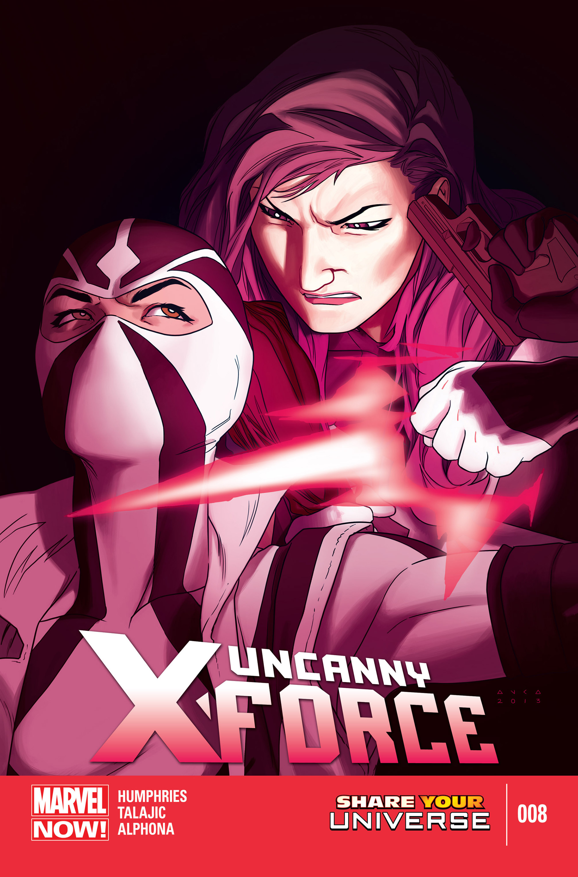 Read online Uncanny X-Force (2013) comic -  Issue #8 - 1