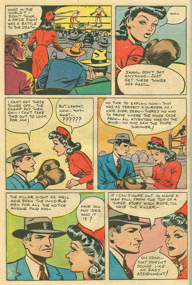 Read online Shadow Comics comic -  Issue #79 - 9