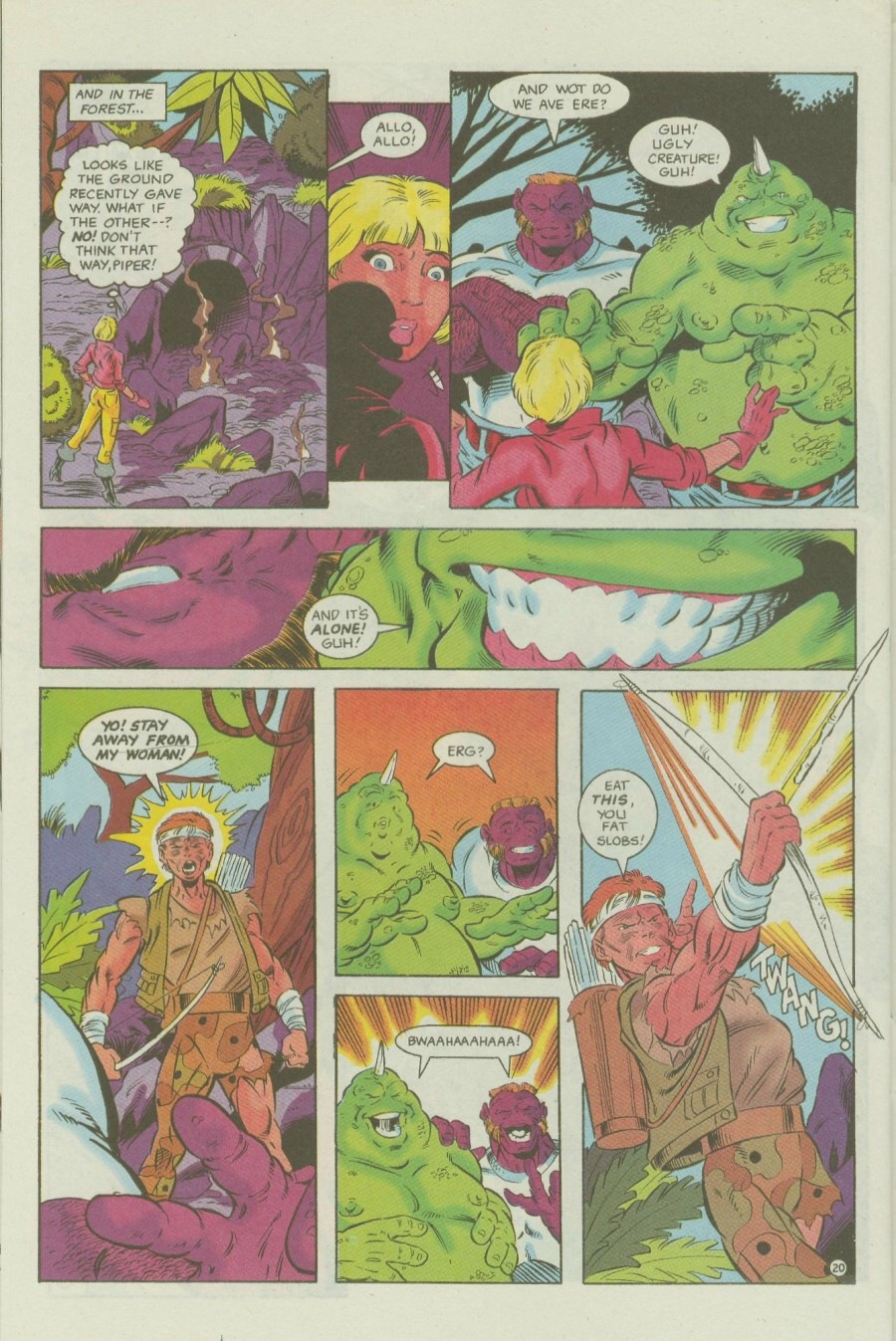 Read online Ex-Mutants comic -  Issue #6 - 26