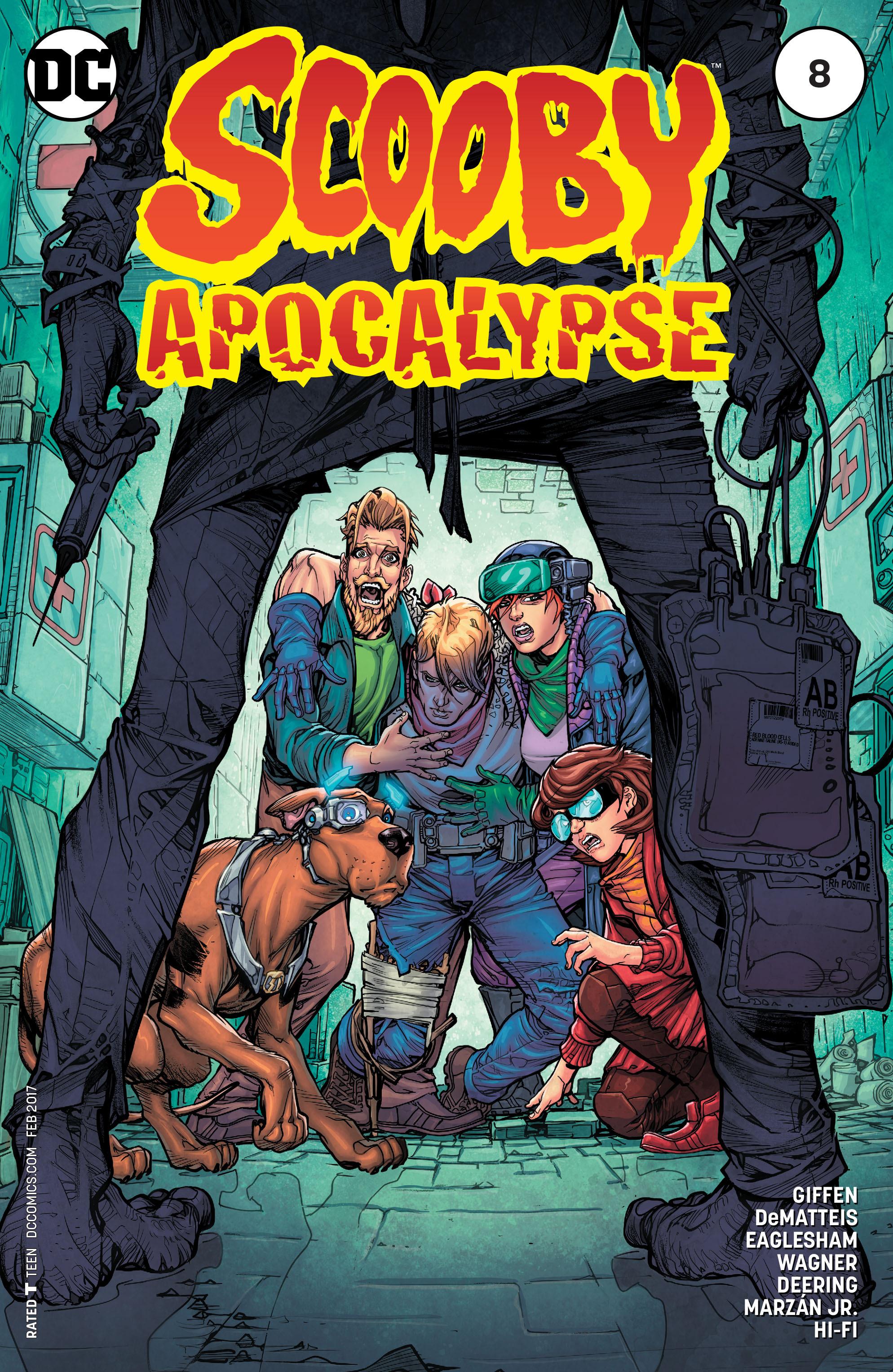 Read online Scooby Apocalypse comic -  Issue #8 - 1