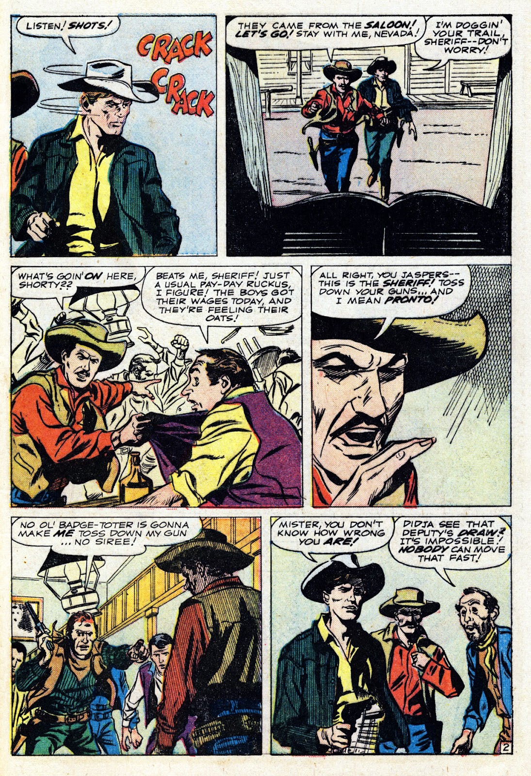 Gunsmoke Western issue 76 - Page 29
