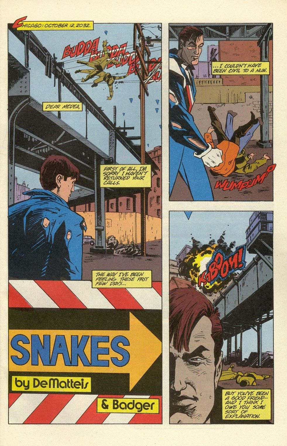 Read online American Flagg! comic -  Issue #39 - 3