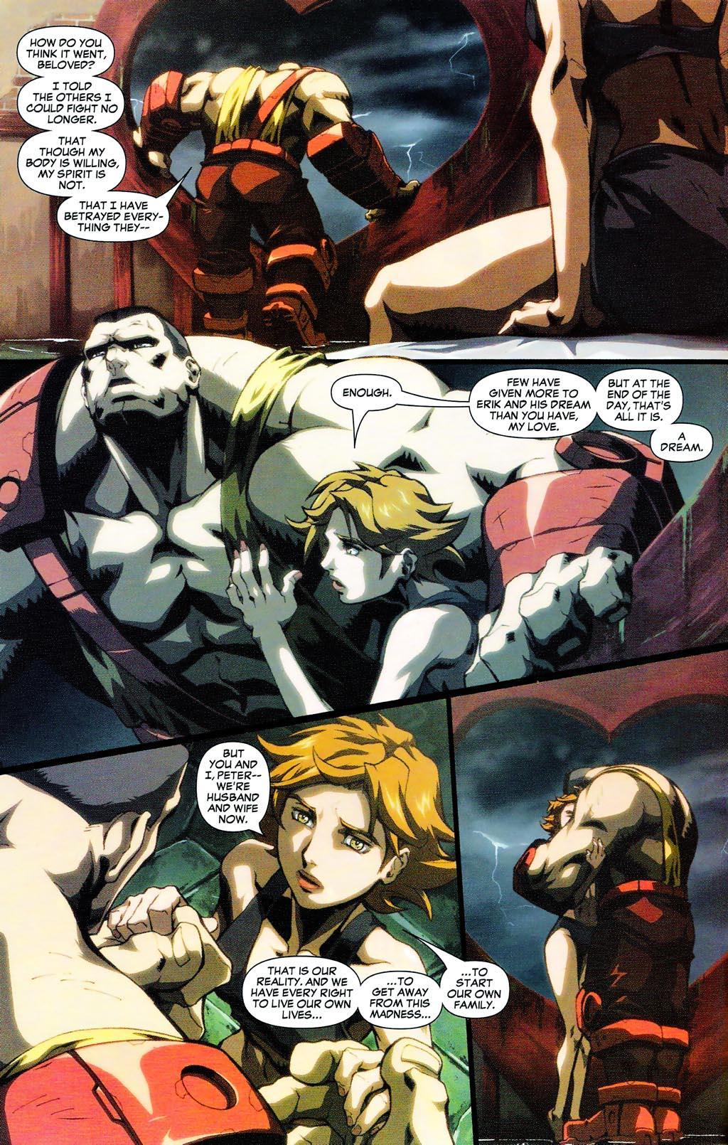 Read online Age of Apocalypse (2005) comic -  Issue #0 - 7