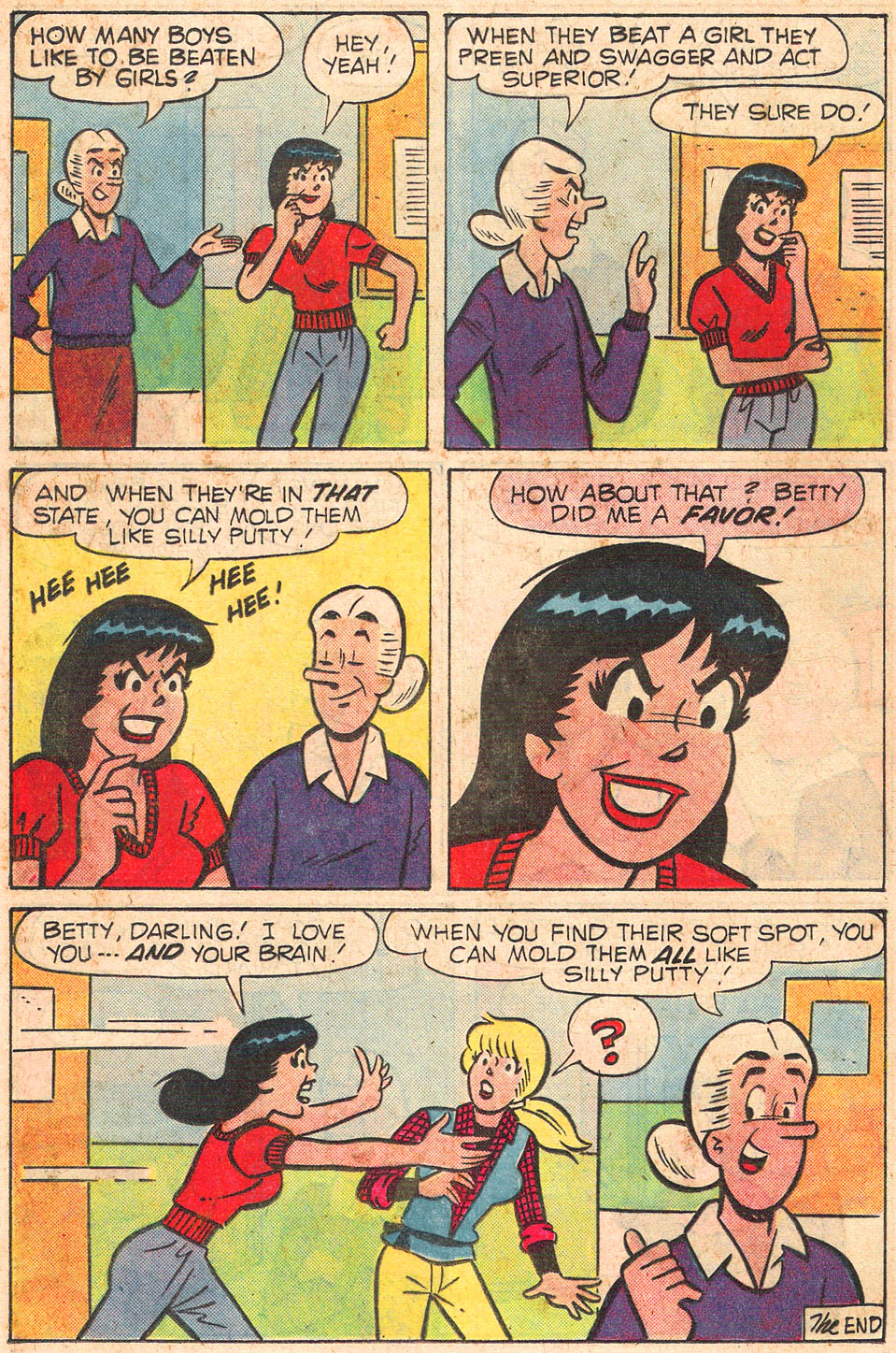 Read online Archie's Girls Betty and Veronica comic -  Issue #301 - 24