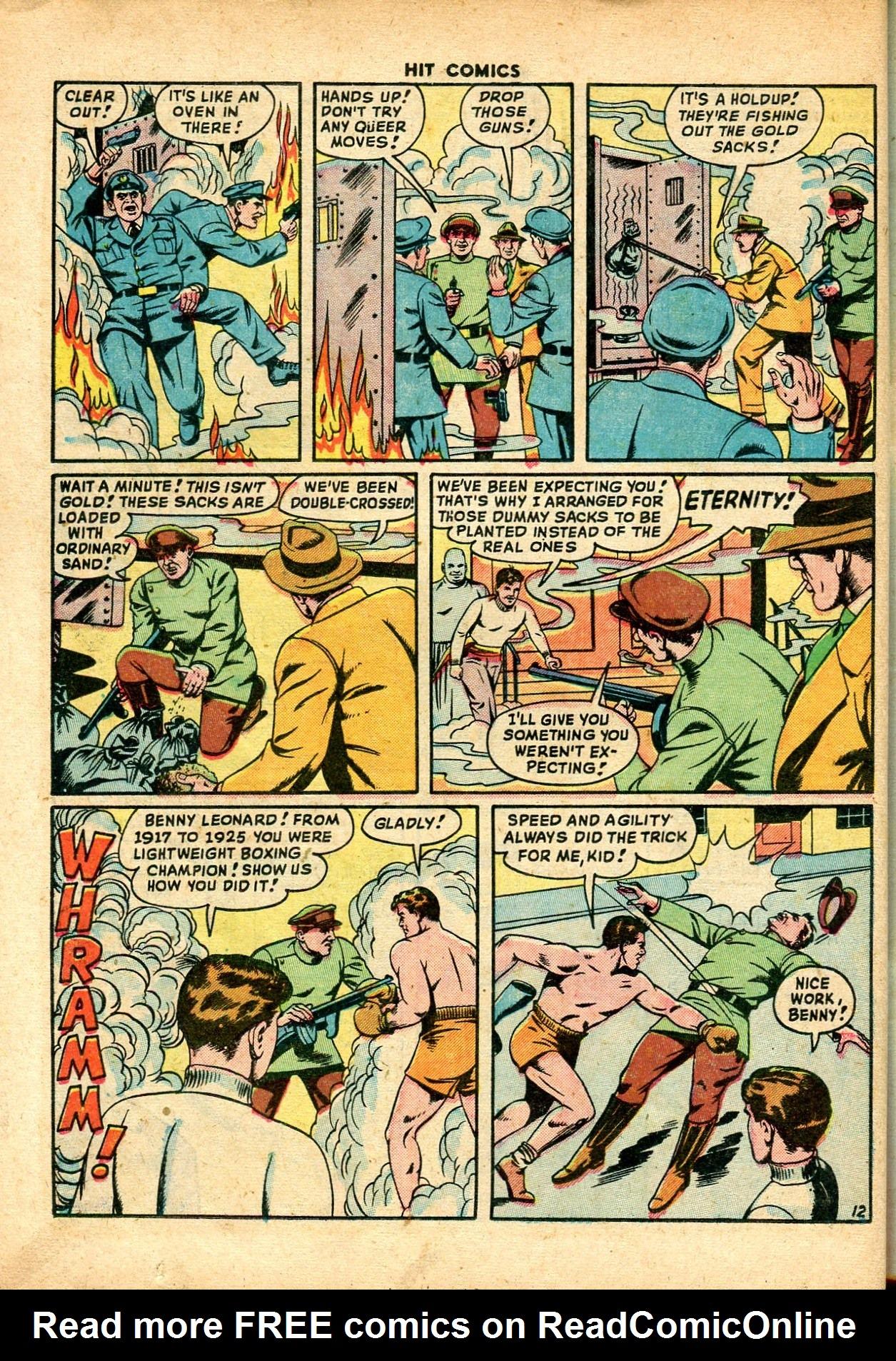 Read online Hit Comics comic -  Issue #59 - 14