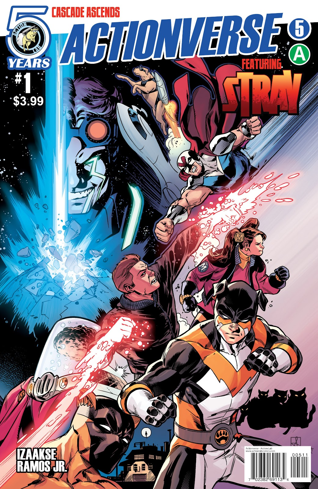 Comic Actionverse issue 6