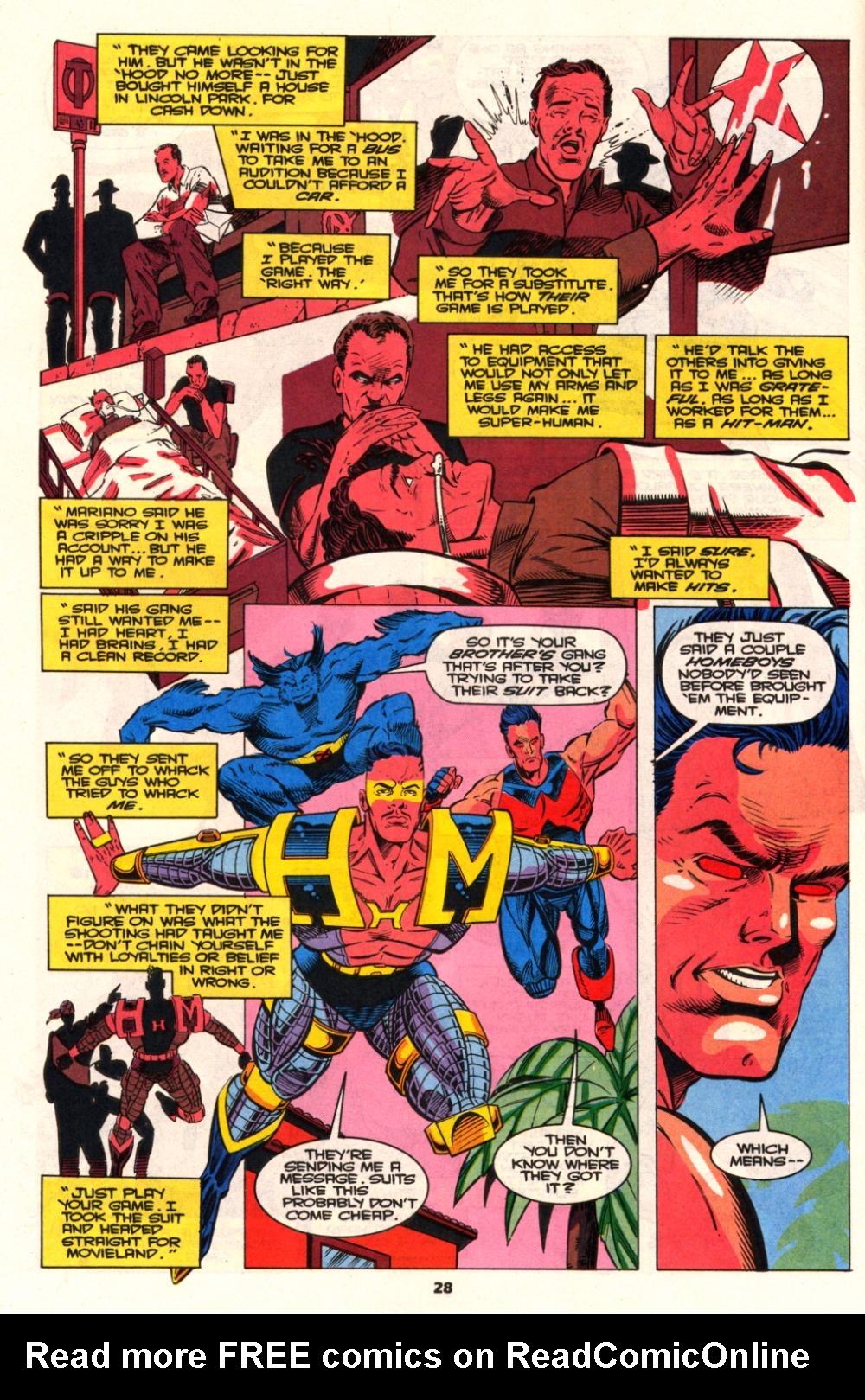 Read online Wonder Man (1991) comic -  Issue # _Annual 2 - 26