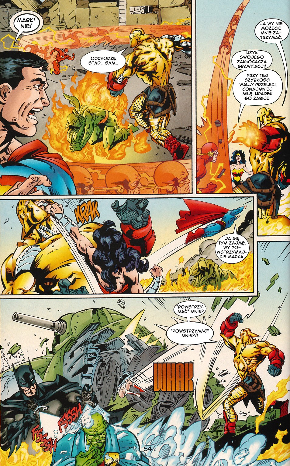Read online JLA Superpower comic -  Issue # Full - 54
