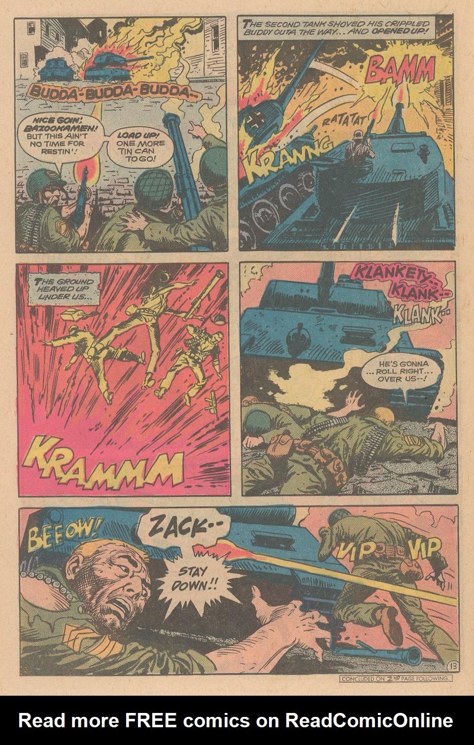 Read online Sgt. Rock comic -  Issue #348 - 14