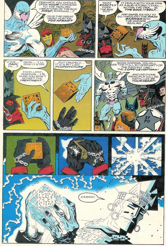 Comic Pinhead vs  Marshal Law: Law in Hell issue 1
