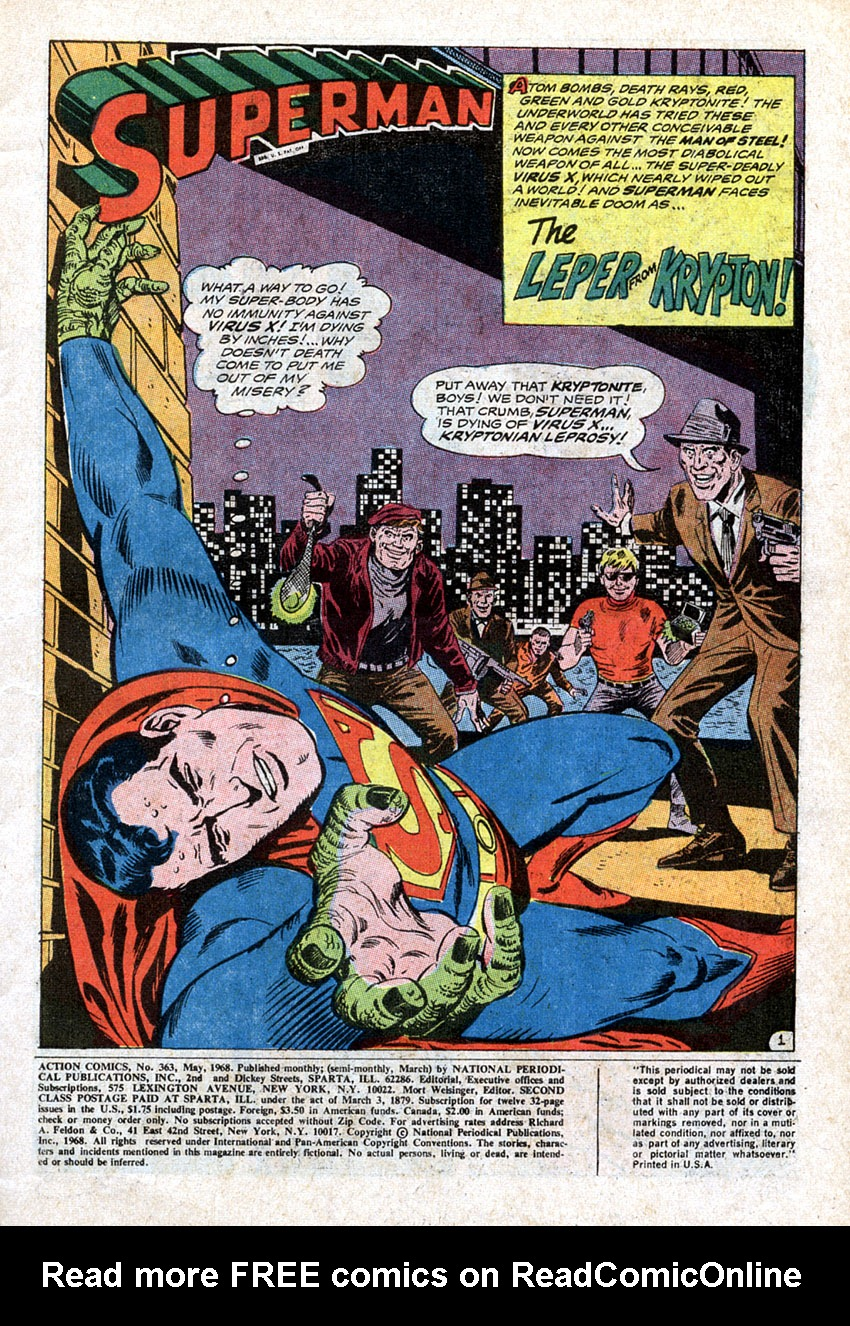 Action Comics (1938) 363 Page 2