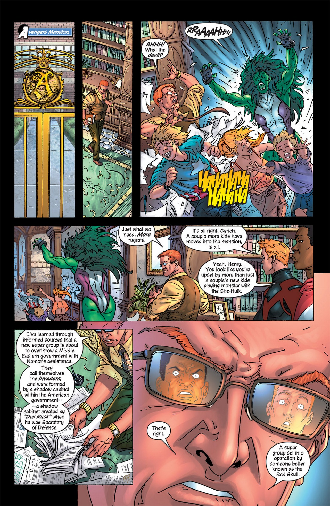 Read online Avengers (1998) comic -  Issue #83 - 20