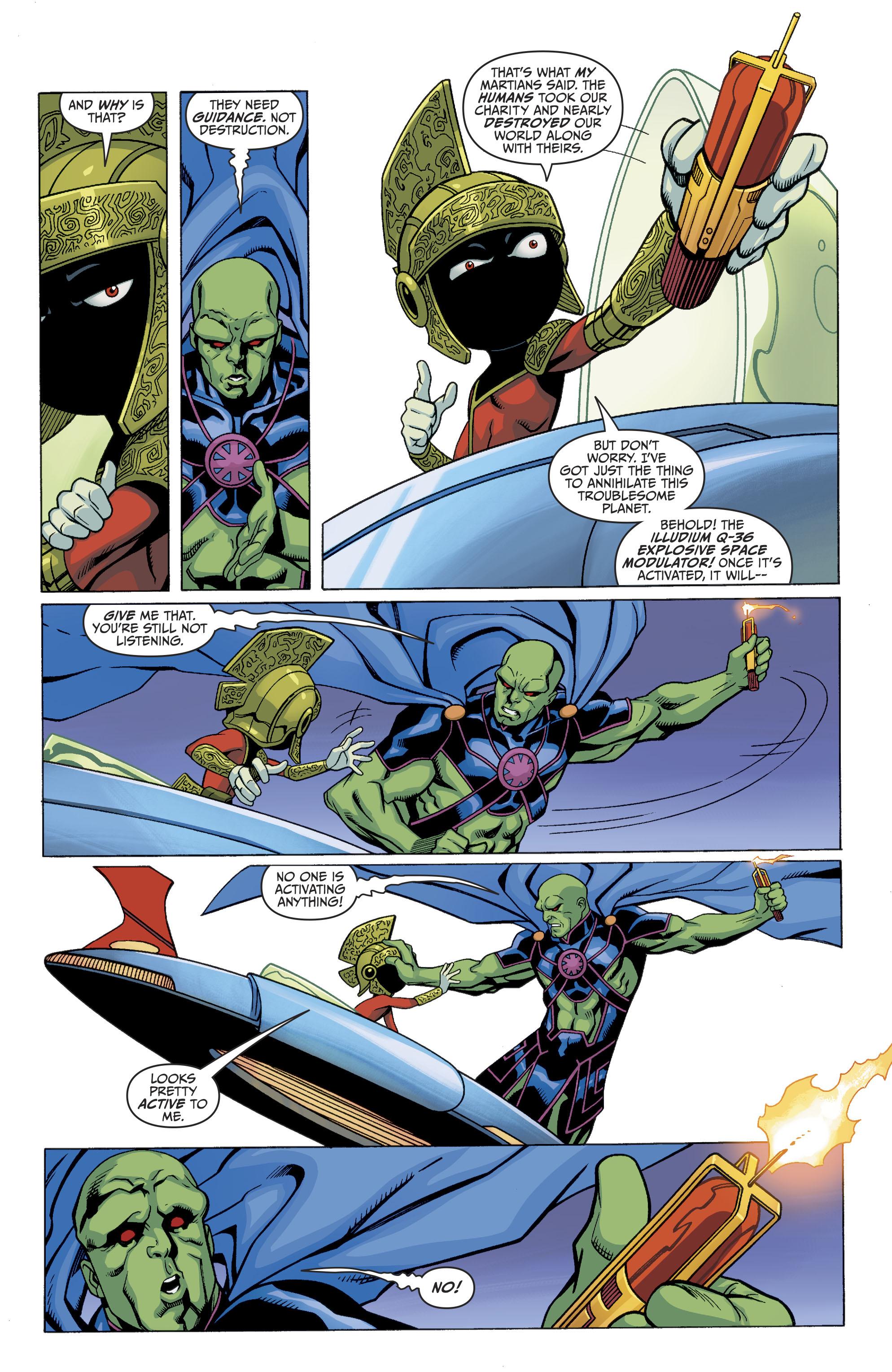Read online Martian Manhunter/Marvin the Martian Special comic -  Issue # Full - 13