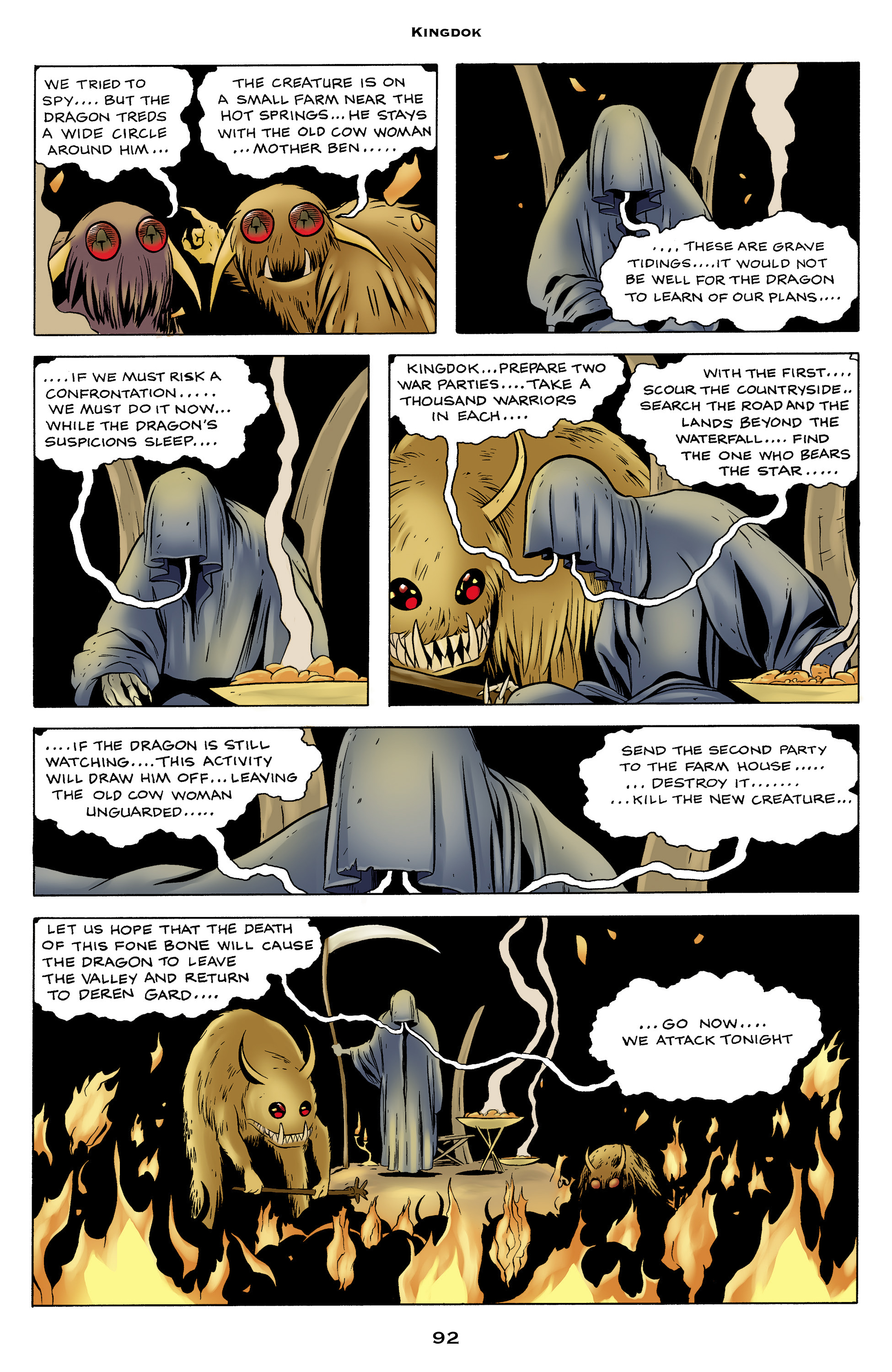 Read online Bone: Out From Boneville comic -  Issue # TPB - 92