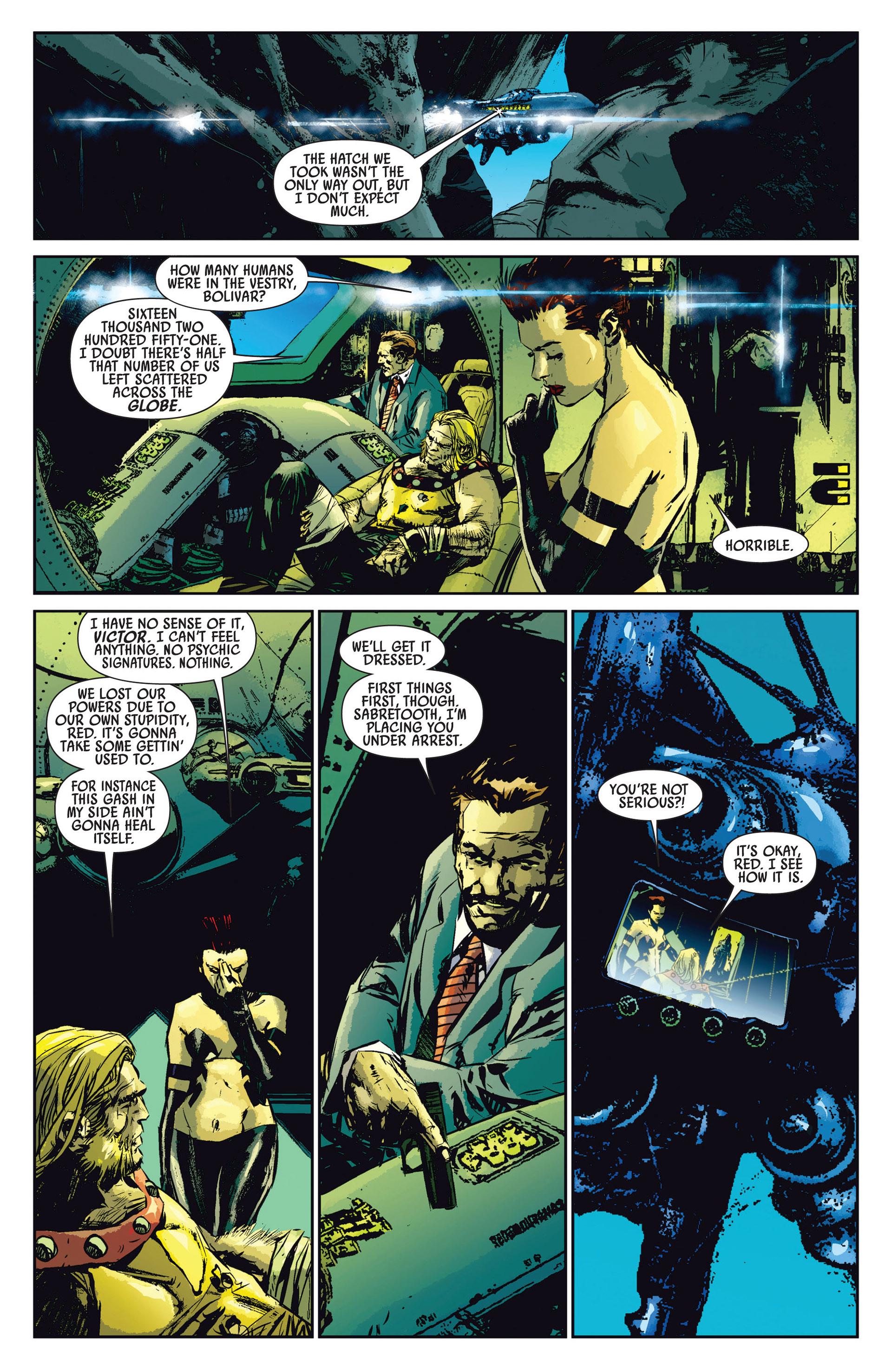 Read online Age of Apocalypse (2012) comic -  Issue #1 - 5
