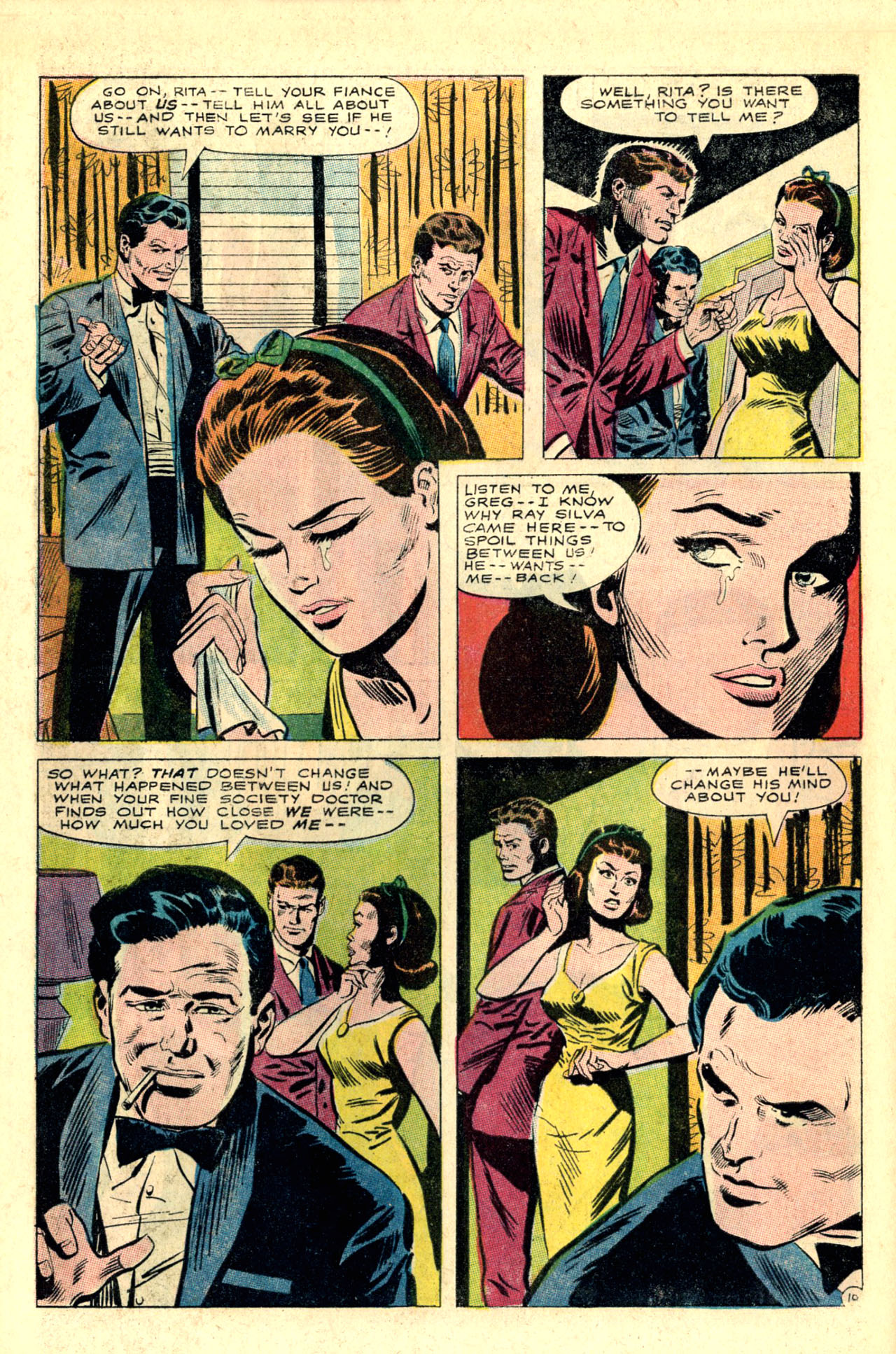 Read online Secret Hearts comic -  Issue #118 - 28