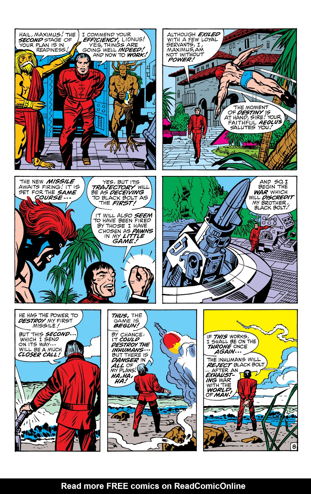Read online Marvel Masterworks: The Inhumans comic -  Issue # TPB 1 (Part 1) - 77